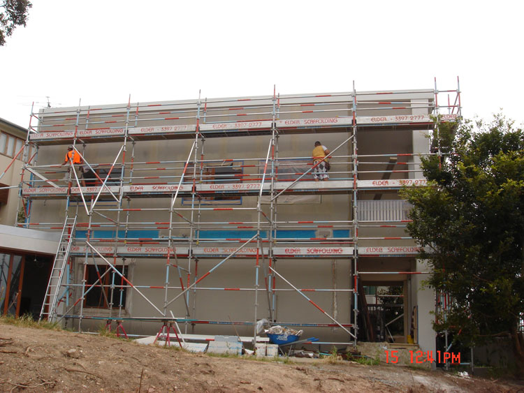 Aluminium & Steel System Scaffold 01