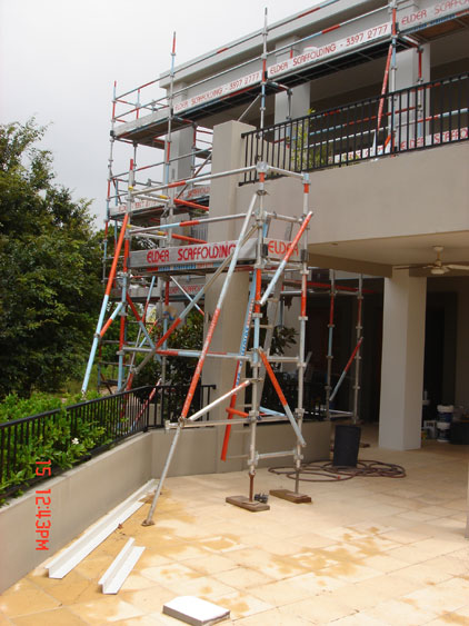 Aluminium & Steel System Scaffold 03