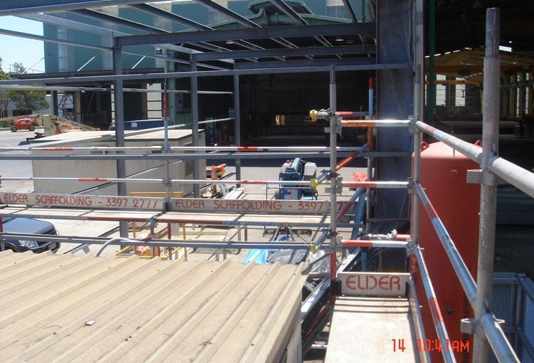 Aluminium & Steel System Scaffold 18