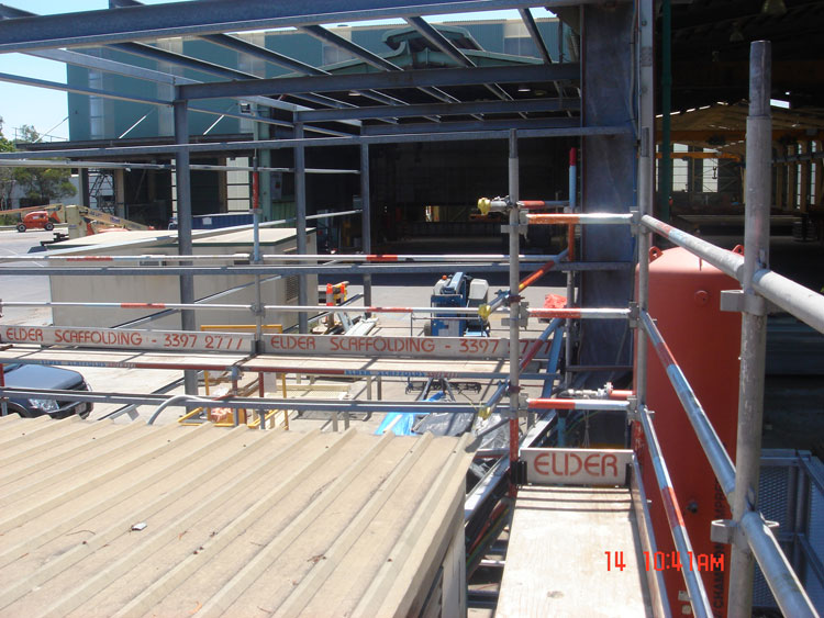 Aluminium & Steel System Scaffold 18