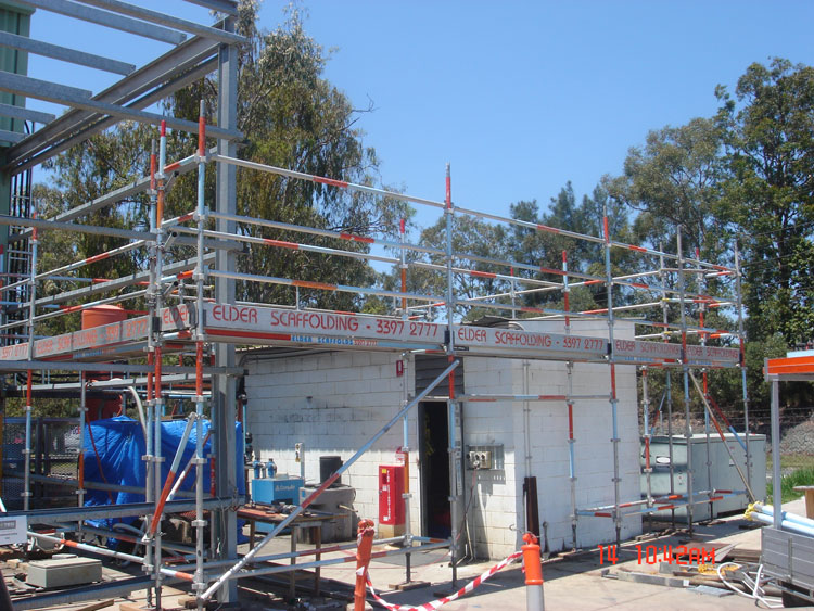 Aluminium & Steel System Scaffold 21